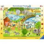 Ravensburger-06583 Puzzle Cadre - Zoo