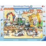 Ravensburger-06584 Puzzle Cadre - Construction