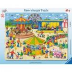 Ravensburger-06636 Puzzle Cadre - A la Fête Foraine
