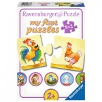 Ravensburger-06888 My First Puzzle - Animaux de la Ferme