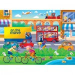 Ravensburger-07110 Puzzle Géant de Sol - On the Move