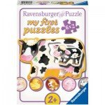 Ravensburger-07176 6 Puzzles - Bébés Animaux