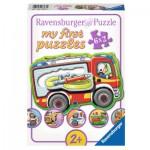 Ravensburger-07367 6 Puzzles - Mes Professions Préférées