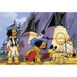 Ravensburger-07559 2 Puzzles - Yakari, le Petit Indien