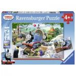 Ravensburger-09043 2 Puzzles - Thomas le Train