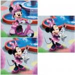 Ravensburger-09338 Puzzle 3 x 49 pièces : Mickey : Minnie au parc