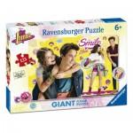 Ravensburger-09782 Puzzle Géant de Sol - Soy Luna