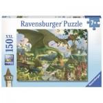 Puzzle  Ravensburger-10022 Pièces XXL - Le Vol du Dragon