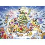 Puzzle  Ravensburger-10545 Pièces XXL - Disney Christmas Magic