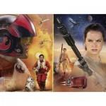Puzzle  Ravensburger-10587 Pièces XXL - Star Wars