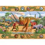 Puzzle  Ravensburger-10609 L'ère des dinosaures