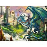 Puzzle  Ravensburger-10876 Dragon Rider