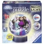 Ravensburger-11789 Puzzle Ball 3D - La Reine des Neiges