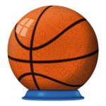 Ravensburger-11868-02 Puzzle Ball 3D - Ballon de Basketball