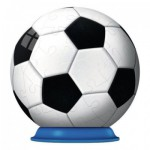 Ravensburger-11868-03 Puzzle Ball 3D - Balle de Football