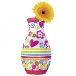 Ravensburger-12057 Puzzle 3D - Girly Girls Edition - Vase Agatha Ruiz de la Prada