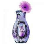Ravensburger-12080 Puzzle 3D - Girly Girls Edition - Vase Animal Trend