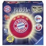 Ravensburger-12177 Puzzle 3D Lumineux - Bayern de Munich