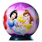 Ravensburger-12208 Puzzle 3D - Princesses Disney