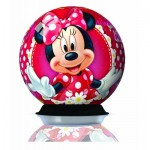 Ravensburger-12234 Puzzle Ball 3D - Minnie