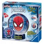 Ravensburger-12257 Puzzle 3D avec LED - Spiderman