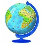 Ravensburger-12337 Puzzle Ball 3D - Mappemonde en Allemand