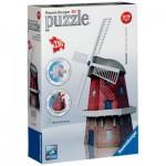 Ravensburger-12563 Puzzle 3D - Moulin