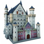 Ravensburger-12573 Puzzle 3D - Château de Neuschwanstein