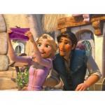 Puzzle  Ravensburger-12614 Princesses Disney : Raiponce à la Fête des Lumières