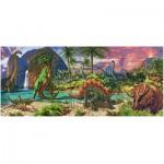 Puzzle  Ravensburger-12747 Au Pays des Dinosaures