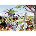 Puzzle  Ravensburger-13098 Astérix et Obélix : Les Gaulois à L'Attaque !