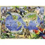 Puzzle  Ravensburger-13173 Le Monde Sauvage