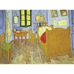 Puzzle  Ravensburger-13656 Pièces XXL - Vincent Van Gogh : La chambre en Arles