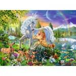 Puzzle  Ravensburger-13673 Star Line - Rencontre Magique