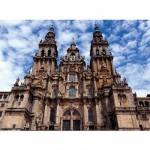 Puzzle  Ravensburger-14046 Saint Jacques de Compostelle, Espagne