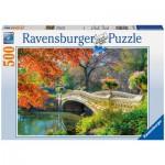 Puzzle  Ravensburger-14231 Pont romantique