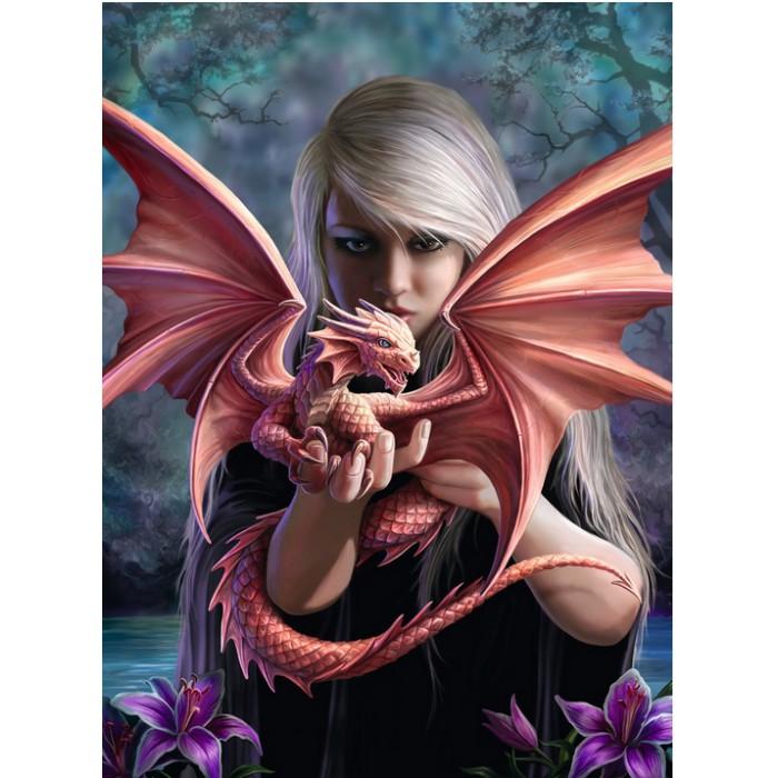 Anne Stokes: La Femme Dragon