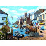 Puzzle  Ravensburger-14715 Port Tranquille