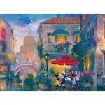 Puzzle  Ravensburger-14725 James Coleman: Mickey à Venise