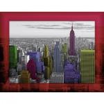 Ravensburger-14894 Complete Puzzle Set : New York Colours