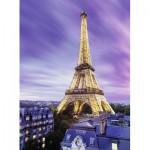 Puzzle  Ravensburger-14898 Starline - Tour Eiffel