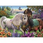 Puzzle  Ravensburger-14911 Chevaux Scintillants