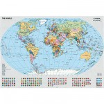 Puzzle  Ravensburger-15652 Carte du monde politique