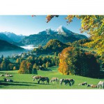 Puzzle  Ravensburger-15741 Berchtesgaden face au Watzmann