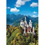 Puzzle  Ravensburger-15755 Allemagne : Le château de Neuschwanstein en automne