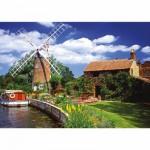 Puzzle  Ravensburger-15786 Moulin à vent