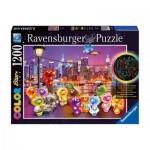 Puzzle  Ravensburger-16185 Star Line Color Collection - Gelini : Pier Party