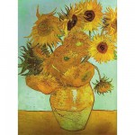 Puzzle  Ravensburger-16206 Van Gogh : Les Tournesols