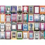 Puzzle  Ravensburger-16217 Collage - Fenêtres
