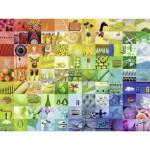 Puzzle  Ravensburger-16322 99 Belles Couleurs